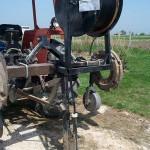 Бобина капельной ленты, готовая к механической укладке
